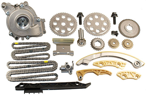Cloyes timing chain water pump kit